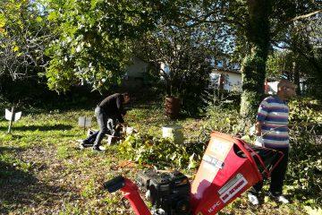 Chantier Jeunes - Nettoyage espaces verts