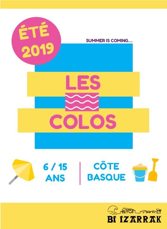 Les colos 2019 !